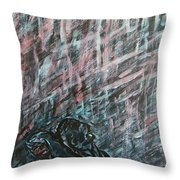 A Hard Rain Gonna Fall Throw Pillow