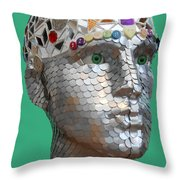 A Head Full Of Shattered Dreams Throw Pillow