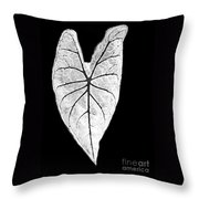 A Heart In Nature Throw Pillow