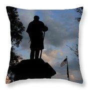 A Heroes Tribute Throw Pillow by Wayne King