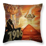 A Higher Perspective Throw Pillow