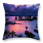 A Hilo View Throw Pillow