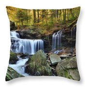 A Hint Of Autumn Throw Pillow