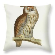 A History Of British Birds. Throw Pillow