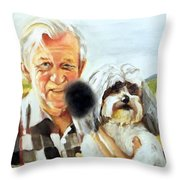 A Hole In My Past Part II Throw Pillow