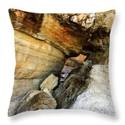 A Hole In The Rock - 1 Throw Pillow