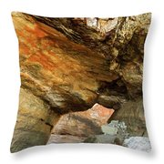 A Hole In The Rock - 2  Throw Pillow