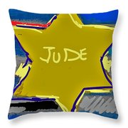 A Holocaust Throw Pillow
