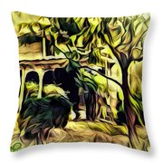 A Home Of Love Throw Pillow