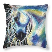 A Horse In My Keeping ... Throw Pillow