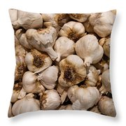A Hotbed Of Bad Breath Throw Pillow