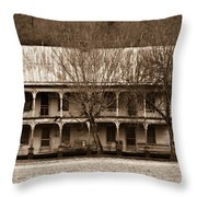 A House From The Past Throw Pillow
