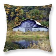 A Is For Autumn Throw Pillow
