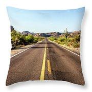 A Journey Through Arizona Throw Pillow