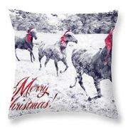 A Joyful Christmas Throw Pillow
