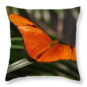 A Julia Butterfly I Throw Pillow