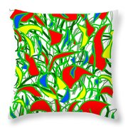 A Jungle Out There Throw Pillow