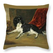 A King Charles Spaniel Throw Pillow