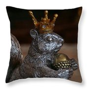 A King For A Day Throw Pillow
