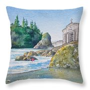 A Kingdom By The Sea Throw Pillow