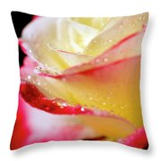 A Kiss Of Dew Throw Pillow