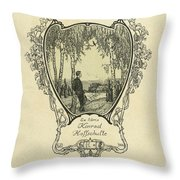 a Konrad Hoffschulte Throw Pillow