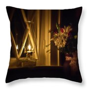 A Lamp In The Window For My Love Throw Pillow