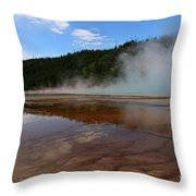 A Landscape That Seems Surreal Throw Pillow