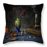 A Last Brandy Throw Pillow