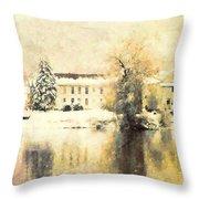 A Late Winter Xvi Throw Pillow