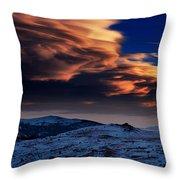 A Lenticular Landscape Throw Pillow