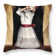 A Letter To Daddy Throw Pillow