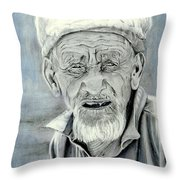 A Life Time Throw Pillow by Enzie Shahmiri