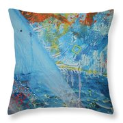 A Light Shines Down Throw Pillow