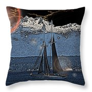 A Lightshow To Remember Throw Pillow