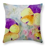 A Little Bit Of Springtime Throw Pillow