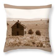 A Little Isolated Throw Pillow