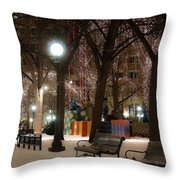 A Little Loveliness Throw Pillow