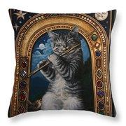 A Little Night Music Throw Pillow
