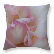 A Little Pink Around The Edges Throw Pillow