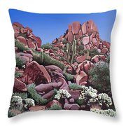 A Little Slice Of Arizona Throw Pillow