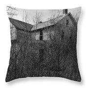 A Little Spooky Throw Pillow