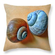 A Lonely Portraits Throw Pillow