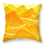 A Lonely Trail Throw Pillow