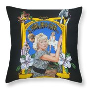 A Long Ago Kiss Throw Pillow