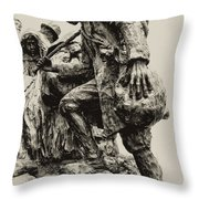 A Long Way To The Top Throw Pillow
