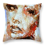 A Look At The Past Throw Pillow