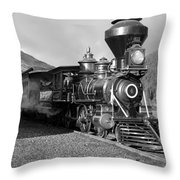 A Look Of The Past Throw Pillow
