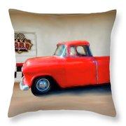A Lot Of Fire A Little Ice Throw Pillow