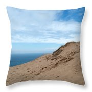 A Lot Of Sand Throw Pillow
